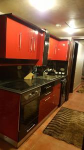مطبخ أو مطبخ صغير في Pyramids Porto Ain Sokhna
