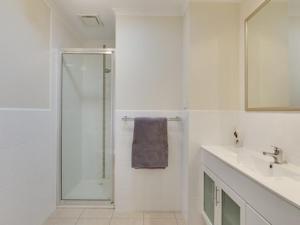 A bathroom at 53 Honeysuckle Grove