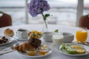 Opciones de desayuno disponibles en Azoris Faial Garden – Resort Hotel