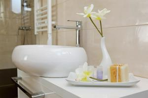 A bathroom at Hotel Villa Telenta