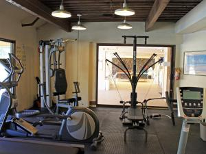 The fitness center and/or fitness facilities at Castle Kamaole Sands