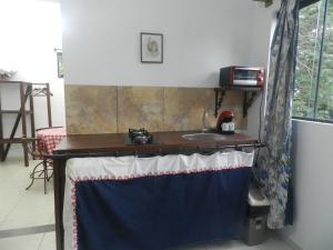 A kitchen or kitchenette at Moncalmterapia