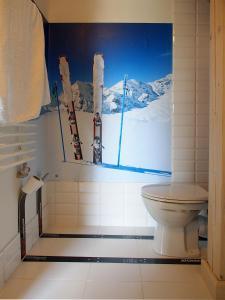 Łazienka w obiekcie Świetnokrzyska Chata