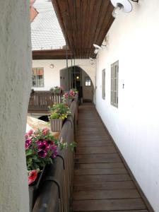 Balkon lub taras w obiekcie Hotel Kocour