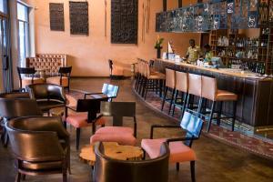 The lounge or bar area at The Royal Senchi Resort Hotel