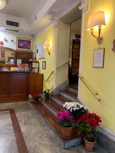 Hall ou réception de l'établissement Hotel Stromboli