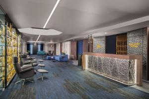 Lobby/Rezeption in der Unterkunft Best Western SeePark Hotel Murten