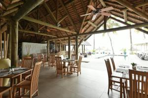Restaurant ou autre lieu de restauration dans l'établissement Sakoa Boutik Hotel