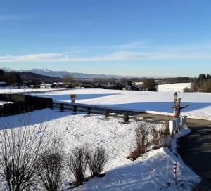 Apparthotel Garni Superior Simsseeblick during the winter