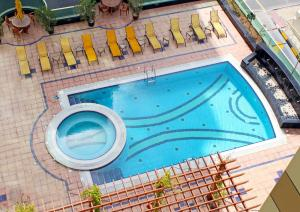 A view of the pool at Dunes Hotel Apartment Oud Metha, Bur Dubai or nearby