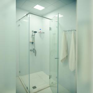 Um banheiro em Deyirman Hotel