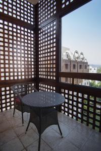 A balcony or terrace at Islamabad Serena Hotel