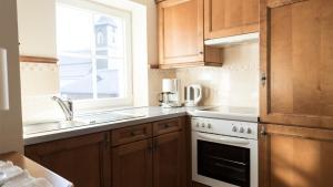 Küche/Küchenzeile in der Unterkunft Triendlhof