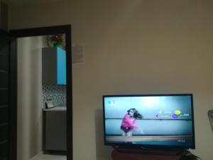 Телевизор и/или развлекательный центр в Apartments 30 micro-district, 9