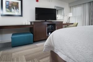 A television and/or entertainment center at Hampton Inn Tiffin