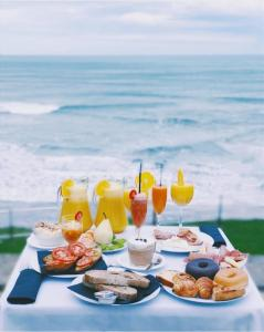 Breakfast options available to guests at Hotel & Talasoterapia Zelai