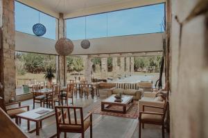 Un restaurante o sitio para comer en Hotel Limari