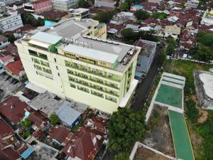 A bird's-eye view of Muara Hotel and Mall Ternate