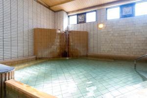 The swimming pool at or close to Hotel Yudanaka