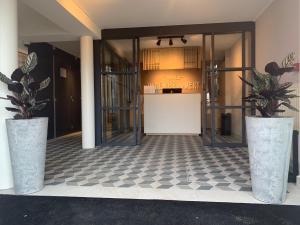 Lobby/Rezeption in der Unterkunft Hotel In den Brouwery