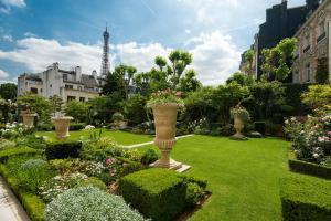 Een tuin van Shangri-La Paris