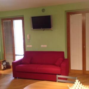 Area soggiorno di One-Bedroom Apartment in Montevarchi I
