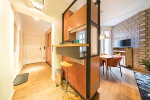"""TV/Unterhaltungsangebot in der Unterkunft Design Apartments - """"Im Holländerhaus"""""""