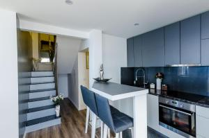 A kitchen or kitchenette at Superior apartment Nike