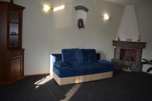 A seating area at Apart-Hotel Parasolka