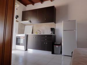 Küche/Küchenzeile in der Unterkunft Ledakis Studios