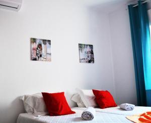 Cama o camas de una habitación en Ria Hostel Alvor