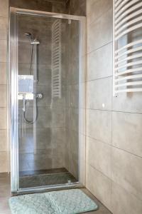 Łazienka w obiekcie Domki Komfort całoroczne