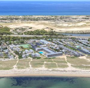 A bird's-eye view of Sandcastle Resort