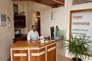 Lobby/Rezeption in der Unterkunft Hotel Manu