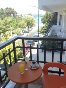A balcony or terrace at Catherine Hotel
