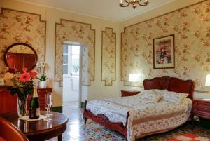 Cama o camas de una habitación en Open Sky Villa