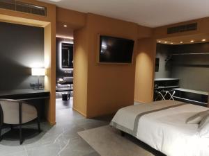 TV o dispositivi per l'intrattenimento presso Grand Hotel San Marino