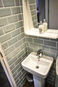 A bathroom at The Dark Horse