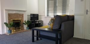 A seating area at Maplewell House