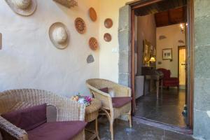 Een zitgedeelte bij Finca Casas Nanitas
