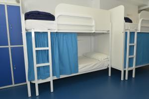 A bunk bed or bunk beds in a room at Hostel Albergue Baionamar