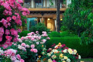 Jardín al aire libre en El Jardín del Convento