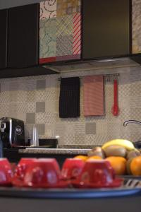 A kitchen or kitchenette at FiumicinoA57
