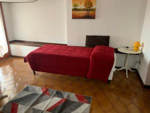 A bed or beds in a room at B & B La Terrazza