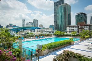The swimming pool at or near Trinity Silom Hotel