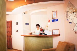 Лобби или стойка регистрации в Отель Экватор Лайт