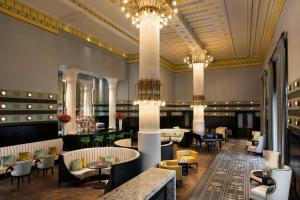A restaurant or other place to eat at Hotel Bristol, A Luxury Collection Hotel, Warsaw