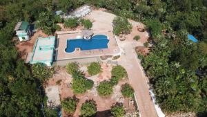 Blick auf The Eternity Resort aus der Vogelperspektive