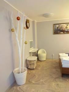 Гостиная зона в Мини-гостиница Пелысь