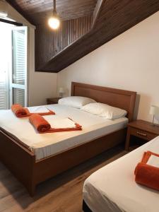 Lova arba lovos apgyvendinimo įstaigoje Guest House Villa Bellevue
